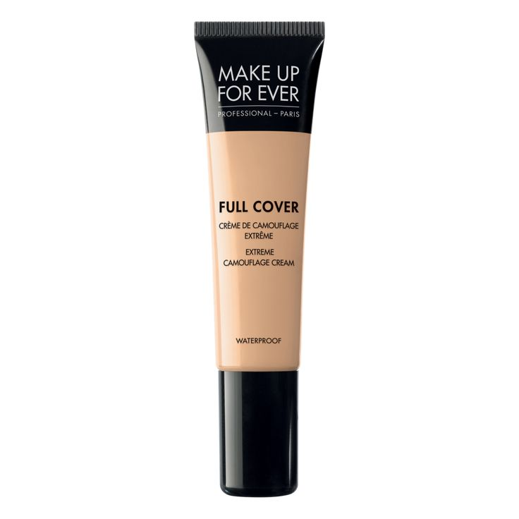 """Make Up For Ever: Full Cover Extreme Camouflage Cream / """"An ultra long-lasting, oil-free, waterproof, concealer that provides full coverage with a matte finish."""""""