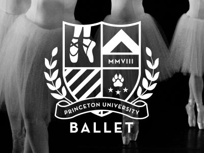 Princeton University Ballet Logo by Jody Worthington More