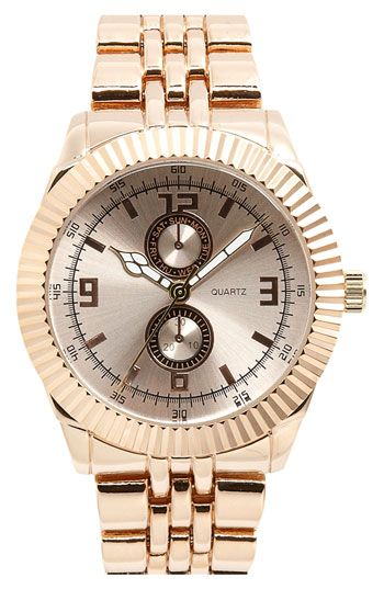 rose gold divers watch $18