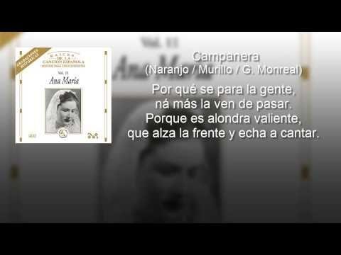 Ana Maria - Campanera - Creación (con letra - lyrics video)