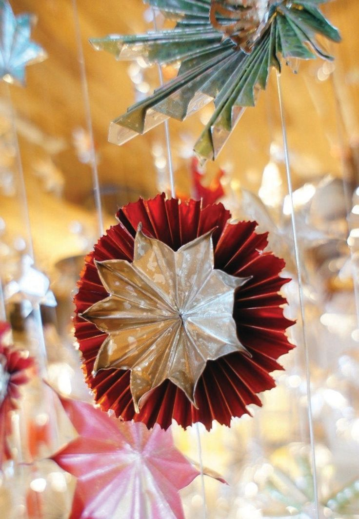 Homemade for the Holidays: DIY Star Ornaments | Anthropologie Blog