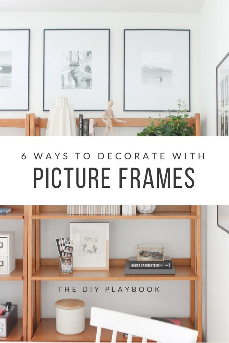 469 best frames wall decor images on pinterest wall decor 6 ways to decorate with picture frames diy decorationhouse