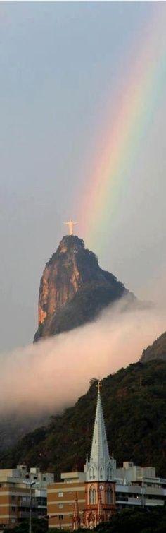 Rio de Janeiro, Brazil [ glance over to the Redeemer]