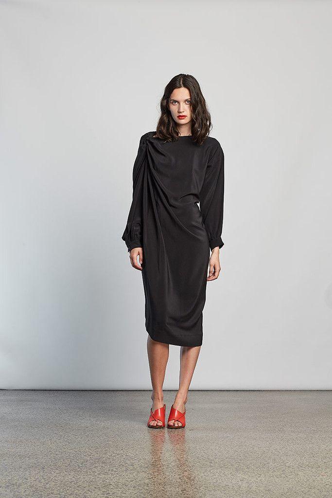 Miss Crabb - Poetry Dress Black