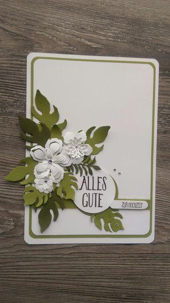 Hochzeitskarten - Karte Hochzeit,Trauung,Gutschein,NEU,Format A5 - ein Designerstück von Mein-Kreativpoint bei DaWanda