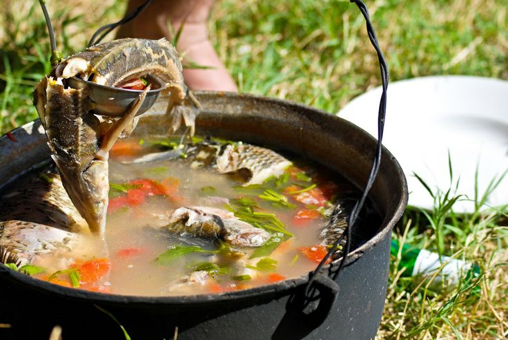 Fish soup- #DanubeDelta