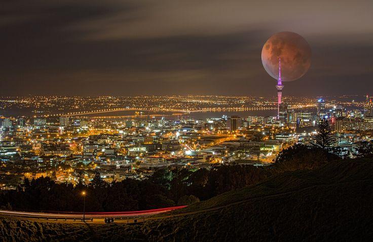 blood moon tonight auckland - photo #32