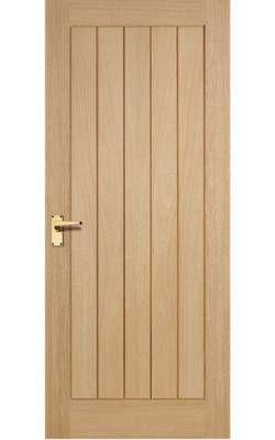 contemporary country oak doors