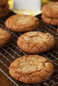 Easy Bakery-Style Molasses Cookies