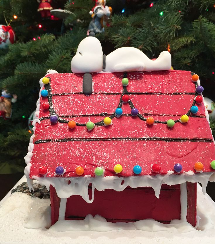 13 Epic Gingerbread Houses Inspired By Your Favorite Movie And TV Shows (This is MY Snoopy doghouse!)