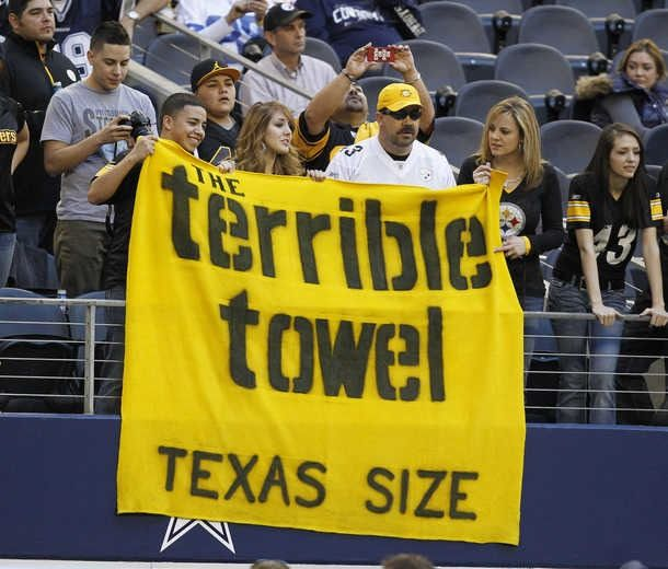 Dfw Furniture Pittsburgh: The Terrible Towel-TEXAS SIZE