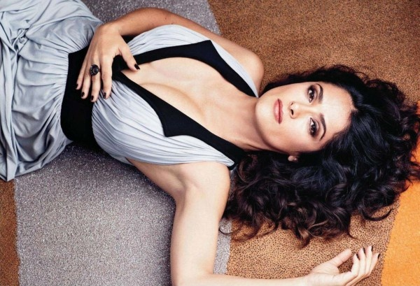Salma Hayek on More magazine, October 2012 #SalmaHayek #More