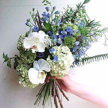 Bloodwood Botanica | Something Blue Wedding Tradition states that the colour Blue represents Faithfullness & Loyalty