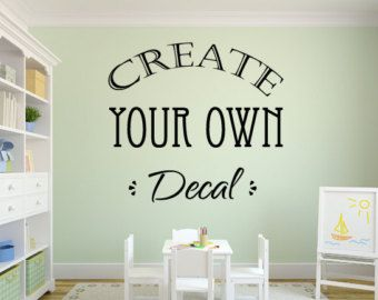 Best Vinyl Wall Decals Images On Pinterest - Custom vinyl wall decals for dining room