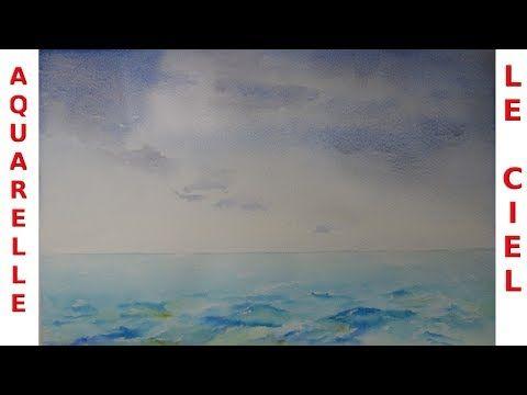 Dessin Et Peinture Video 2469 Comment Peindre Le Ciel Nuageux