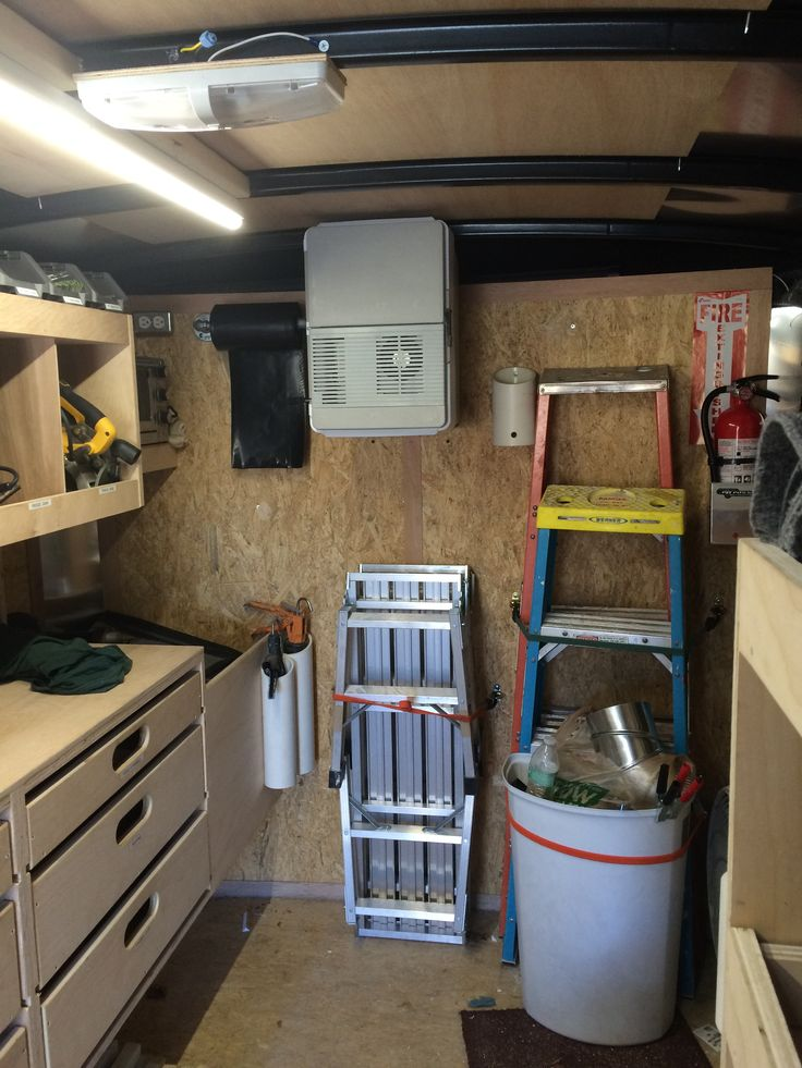 17 best images about work trailer on pinterest cargo for Rv workshop