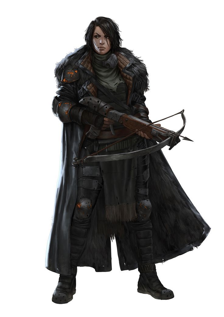 FRANKA by Marko-Djurdjevic armor clothes clothing fashion player character npc | Create your own roleplaying game material w/ RPG Bard: www.rpgbard.com | Writing inspiration for Dungeons and Dragons DND D&D Pathfinder PFRPG Warhammer 40k Star Wars Shadowrun Call of Cthulhu Lord of the Rings LoTR + d20 fantasy science fiction scifi horror design | Not Trusty Sword art: click artwork for source: