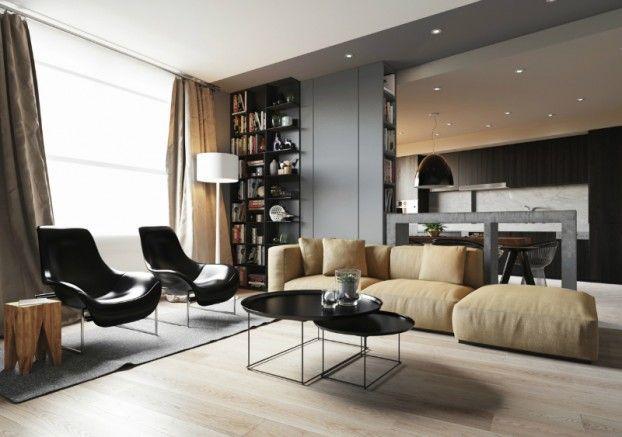 minimalist contemporary interior design apartment