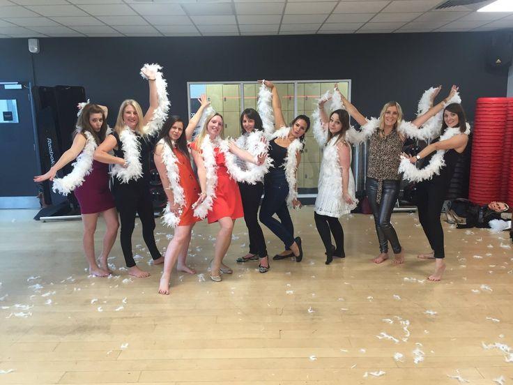 Hens unleash your inner Burlesque beauty in this fabulous Burlesque dance hen party activity.