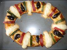 Reyes Magos: Roscón de Reyes, el dulce típico de esta festividad.