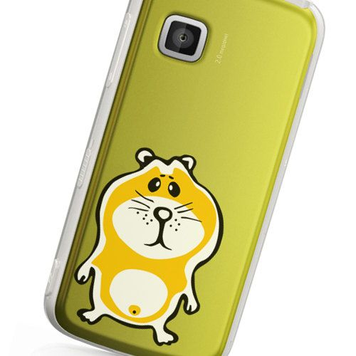 Hamster Phone decal sticker High quality Vinyl iphone sticker or any mobile phone available sizes