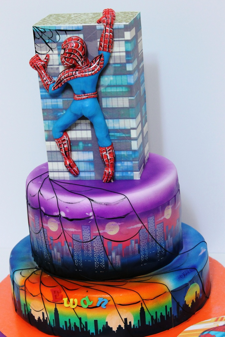 1000 images about cakes airbrush for cakes on pinterest for Airbrush for cake decoration