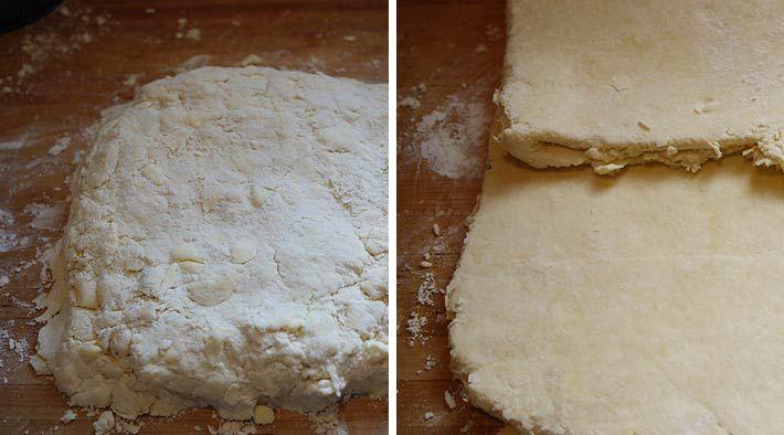 Low Carb Rezept für leckeren Low-Carb Quark-Blätterteig. Wenig Kohlenhydrate und einfach zum Nachkochen. Super für Diät/zum Abnehmen.