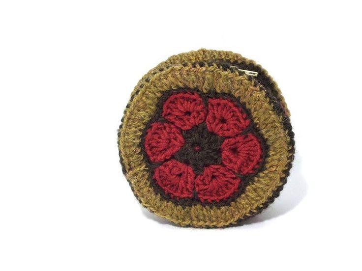 Frame Purses – FLOWER POWER coin purse, makeup bag - zippered – a unique product by betulek on DaWanda  #purses #coinpurse #kosmetyczka #apteczka #organizer #cases #makeup #giftideas #flowerpower #boho #gift #beauty #fashion #style #handmade #handmadejewelry #buyhandmade #betulek #bybetulek #look