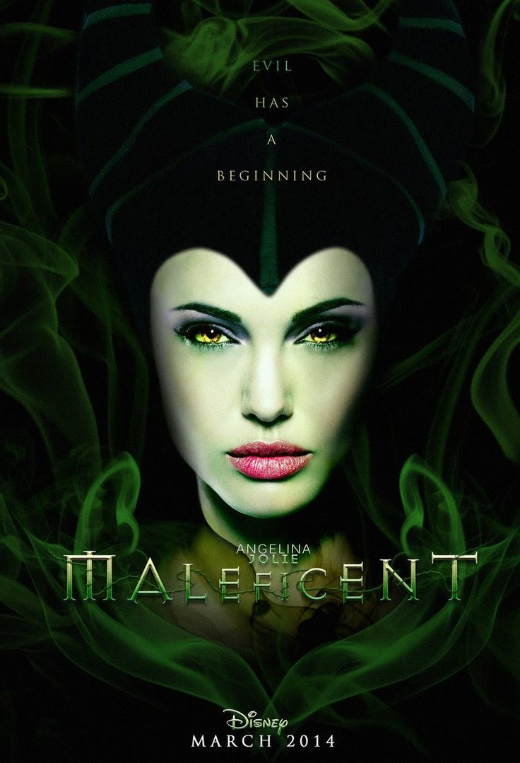 Maleficent - Movie release, March 2014! I will watch this for sure. Maleficent was my favorite bad girl growing up!