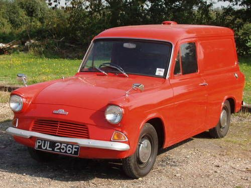 Ford Anglia Van (1968) You had to love 'em. Any breakdown could be fixed in 5 mins :-)