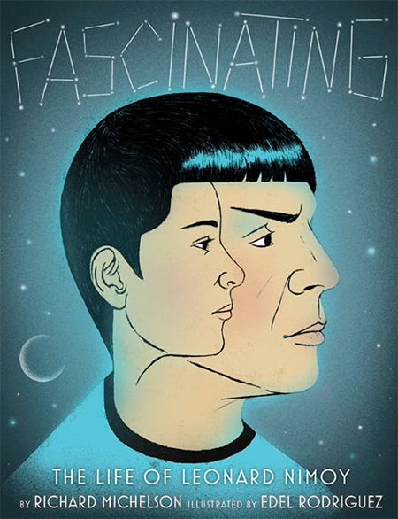 Combine our passion for great children's books with our love for all things Leonard Nimoy, and you get...
