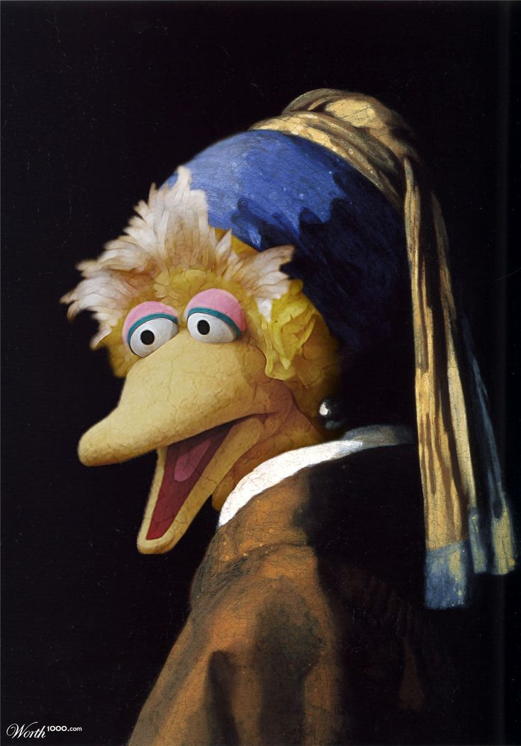 The Bird with the Pearl Earring - Worth1000 Contests