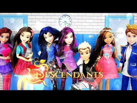 Doll Review Disney Descendants Dolls Youtube Doll