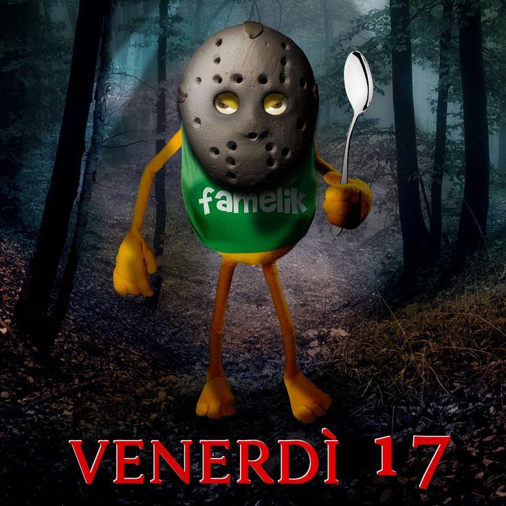 BUON VENERDI 17!!! #Gggwfddlahh #venerdi17