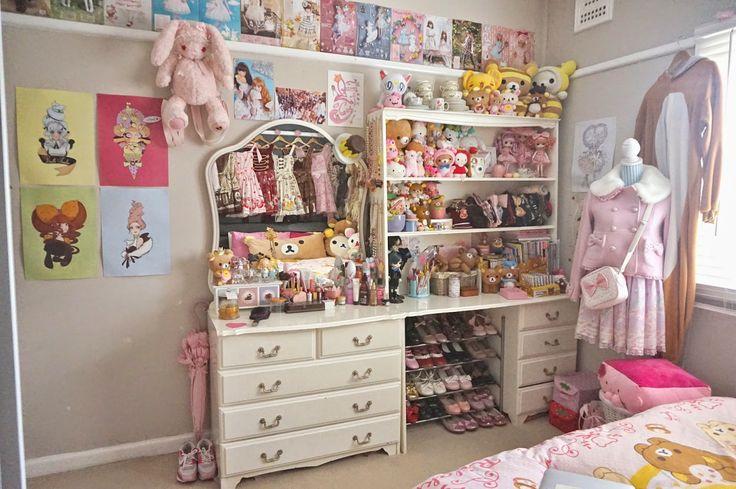 otaku room kawaii bedroom cool rooms bedroom inspo bedroom ideas