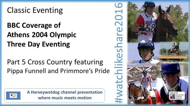 Athens Olympic Eventing (BBC): part 5 Pippa Funnell Cross Country