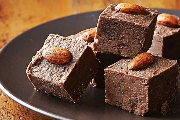 Spiced chocolate & ginger fudge squares main image