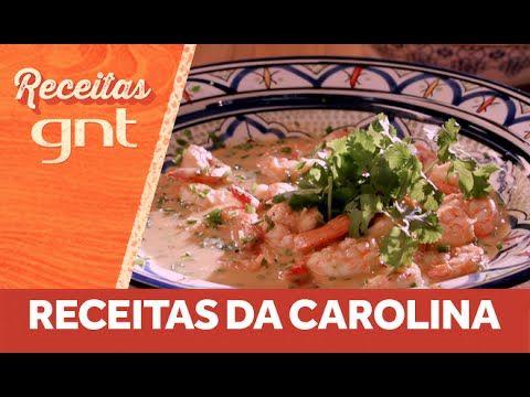 Receita de camarão tailandês da Carolina Ferraz - YouTube