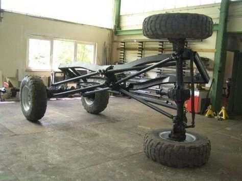 See what can be done with long arm suspension.