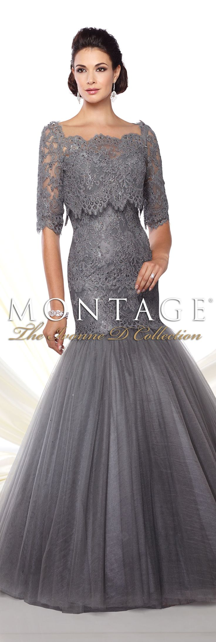 Montage The Ivonne D Collection Spring 2016 - Style No. 116D29 #eveninggowns