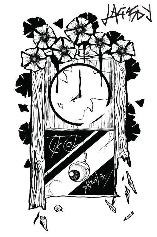 tik tok #clock #tiktok #graphic
