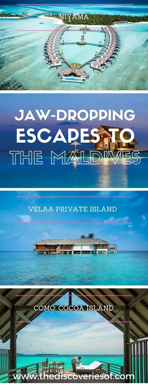 Amazing hotels in the Maldives - travel inspiration for your next luxury holiday. All these luxury hotels are perfect for honeymoons too.
