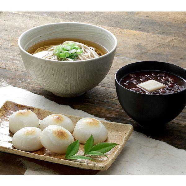 [ご当地グルメ:福井]お餅、そば、ぜんざいと年末からお正月に喜ばれるギフト。【永平寺寿餅詰合せ】
