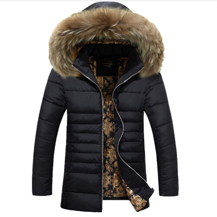 (42.00$) Buy here - 2016 Hot Sale Men Hooded Down Jacket Coat Thick
