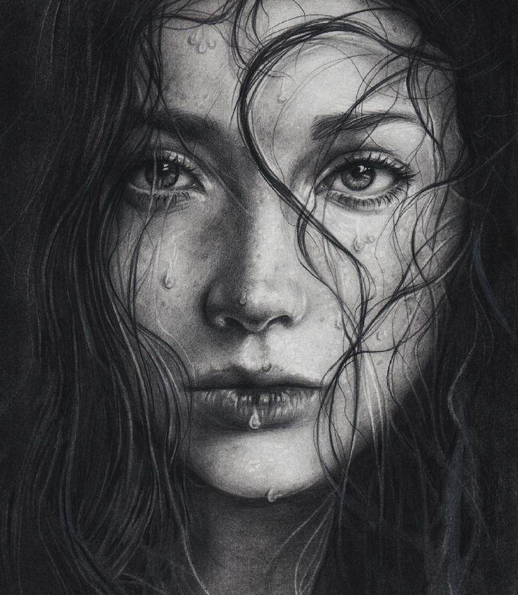 beautiful.bizarre — fitzillo:   by anarelen — Charcoal and graphite on...