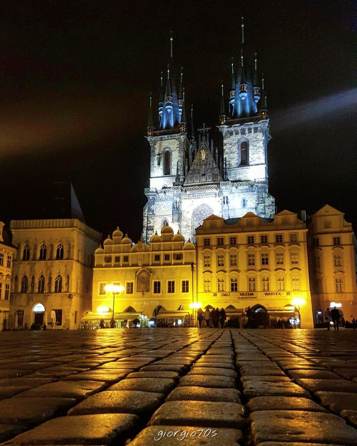 Church of Our Lady before Týn, Old Town Square, Prague!