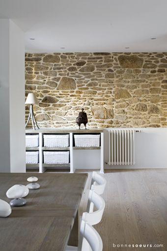 bonnesoeurs decoration maison bretonne 08 sejour entree mur en pierres
