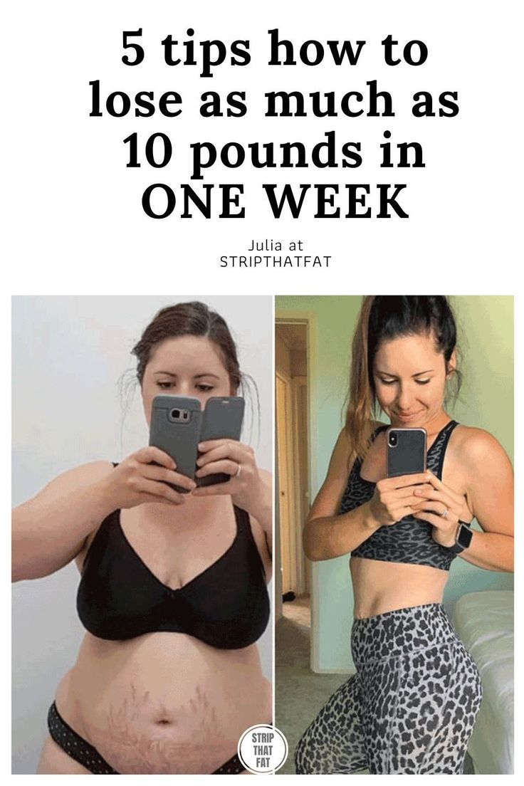 Pin on How To Lose 11 Pounds In One Week