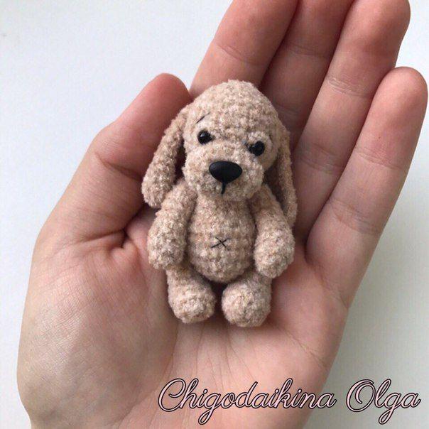 Милый щеночек от [id2463083|Ольги Чигодайкиной]