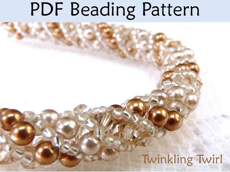 174 best Peyote Brazaletes images on Pinterest Beads Beading